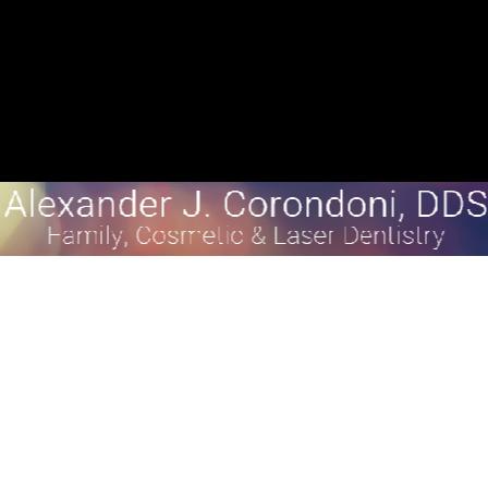 Dr. Alexander J Corondoni