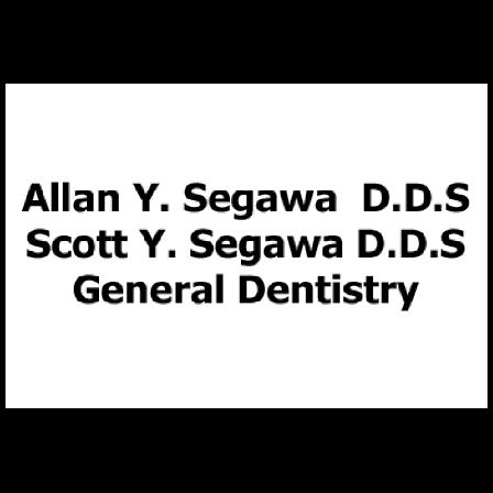 Dr. Allan Y Segawa