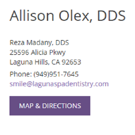 Dr. Allison L Olex
