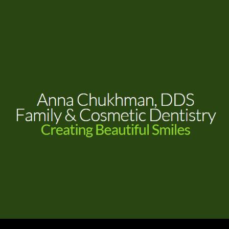 Dr. Anna Chukhman