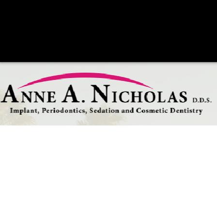 Dr. Anne Nicholas