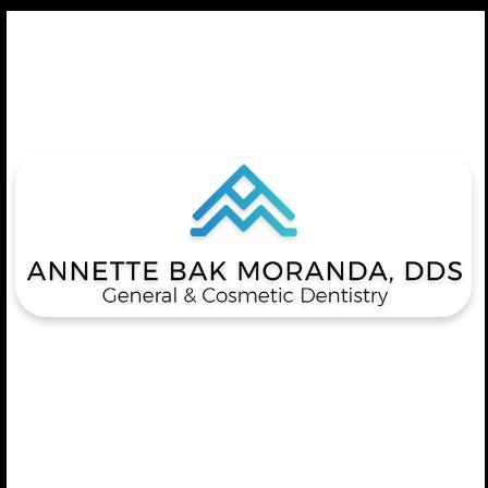 Dr. Annette B Moranda
