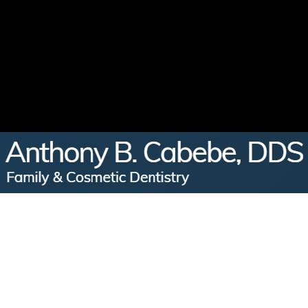 Dr. Anthony B Cabebe