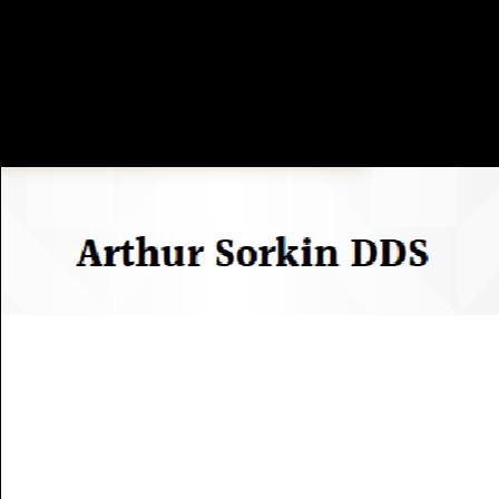 Dr. Arthur B Sorkin