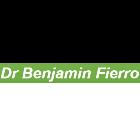 Dr. Benjamin Fierro