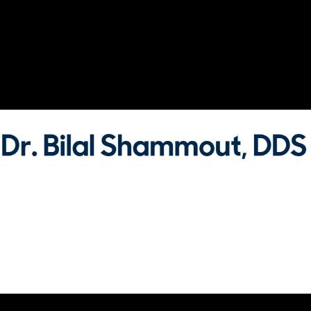Dr. Bilal Shammout