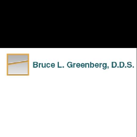 Dr. Bruce L Greenberg