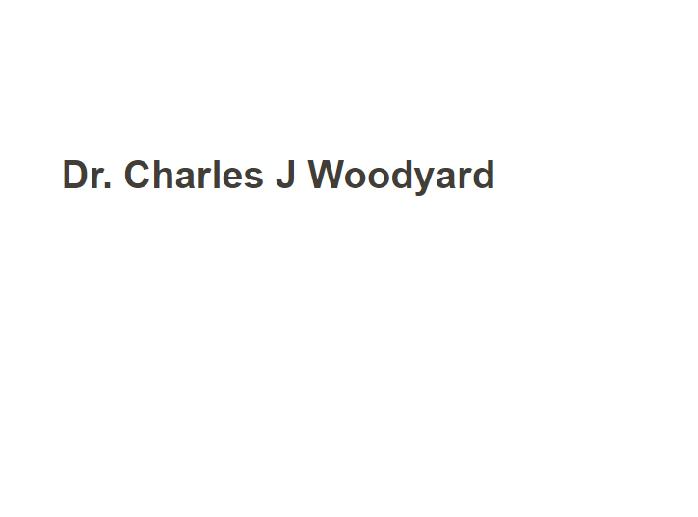 Dr. Charles J Woodyard