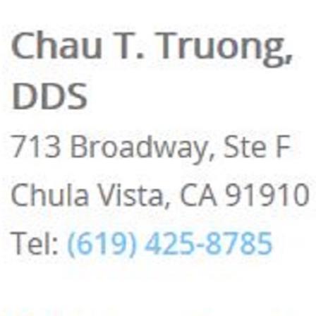 Dr. Chau T Truong