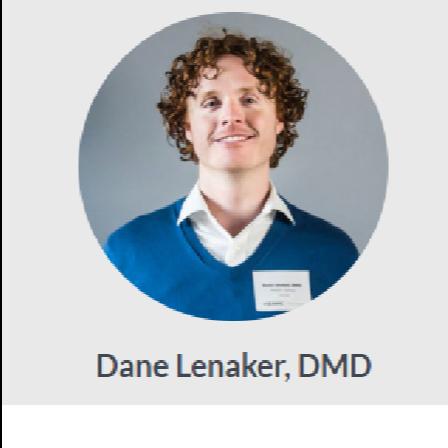 Dr. Dane C Lenaker