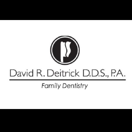 Dr. David  Deitrick