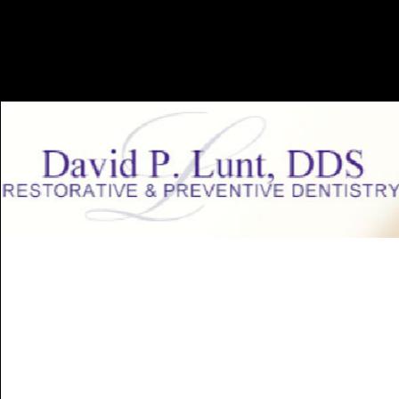 Dr. David P Lunt