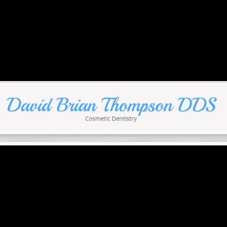 Dr. David B Thompson
