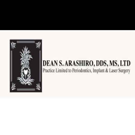 Dr. Dean S Arashiro