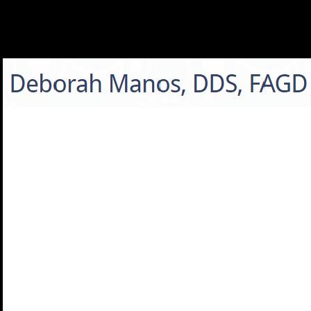 Dr. Deborah Manos