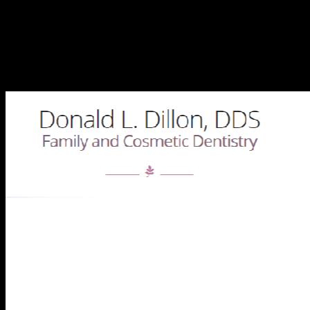 Dr. Don L Dillon