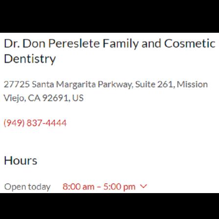 Dr. Donald R Pereslete