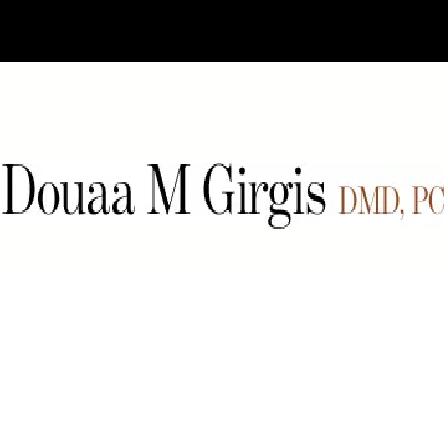 Dr. Douaa Girgis