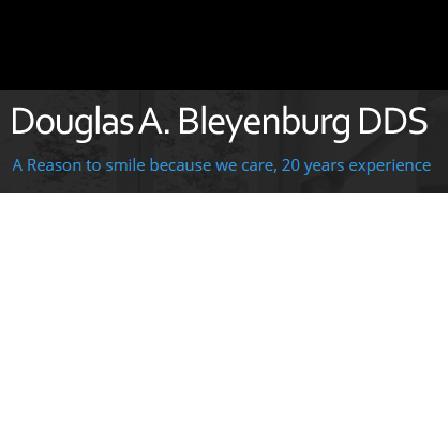 Dr. Douglas A. Bleyenburg