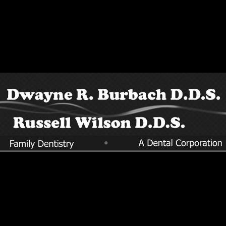 Dr. Dwayne R Burbach