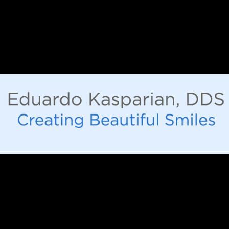 Dr. Eduardo D Kasparian