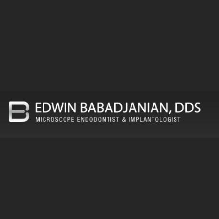 Dr. Edwin Babadjanian