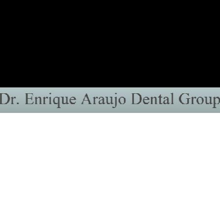 Dr. Enrique A Araujo