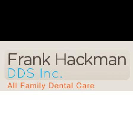 Dr. Frank H Hackman