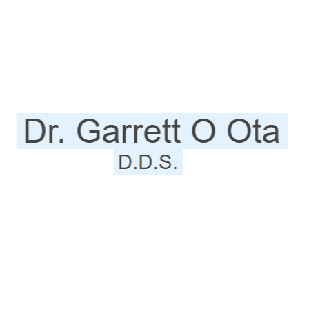 Dr. Garrett O Ota