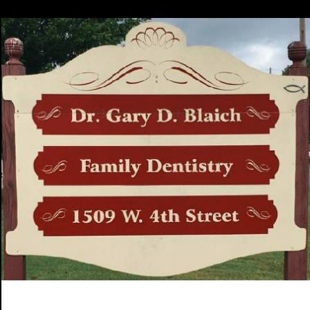 Dr. Gary D Blaich