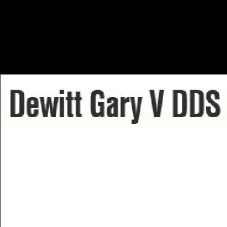 Dr. Gary V Dewitt