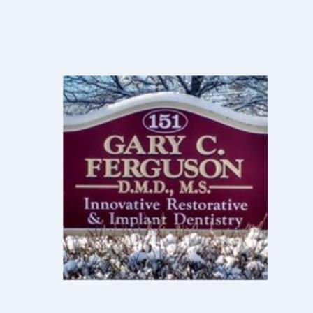 Dr. Gary C Ferguson