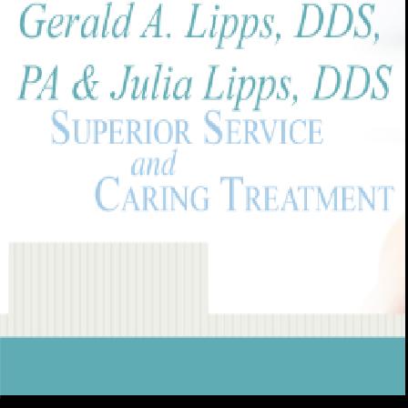 Dr. Gerald A Lipps