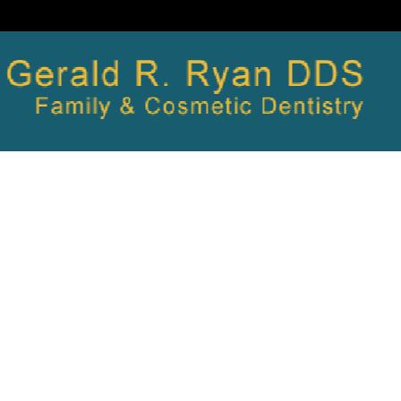 Dr. Gerald R. Ryan