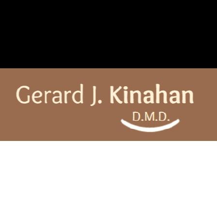 Dr. Gerard J Kinahan