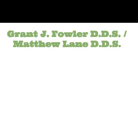 Dr. Grant J Fowler