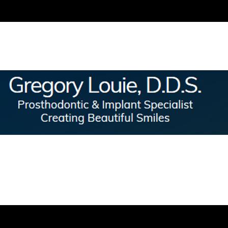 Dr. Gregory K Louie