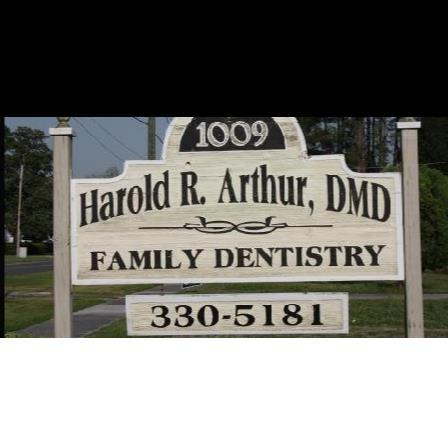 Dr. Harold Arthur, Jr