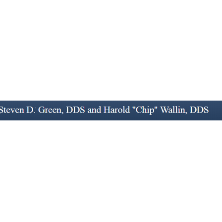 Dr. Harold D Wallin, Jr