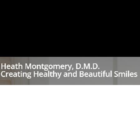 Dr. Heath Montgomery