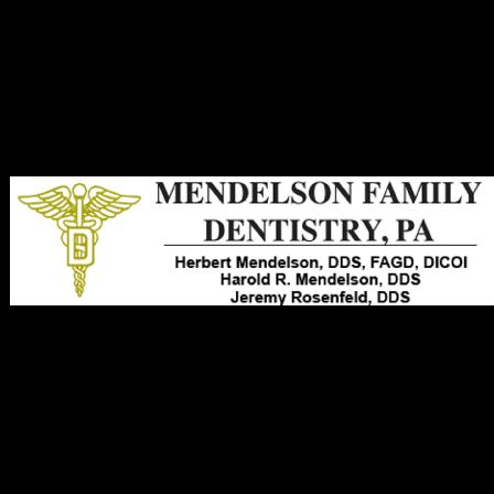 Dr. Herbert M Mendelson
