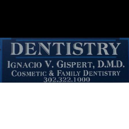 Dr. Ignacio V Gispert