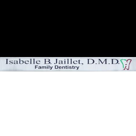 Dr. Isabelle B Jaillet
