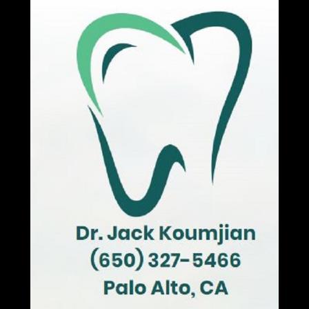 Dr. Jack H Koumjian