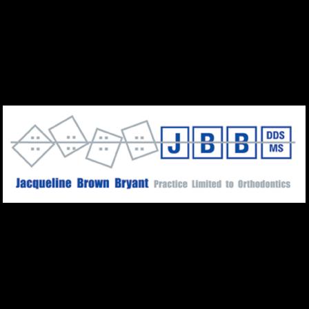 Dr. Jacqueline D Brown  DDS