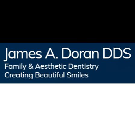 Dr. James A Doran