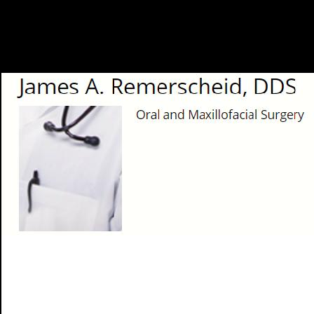 Dr. James A Remerscheid