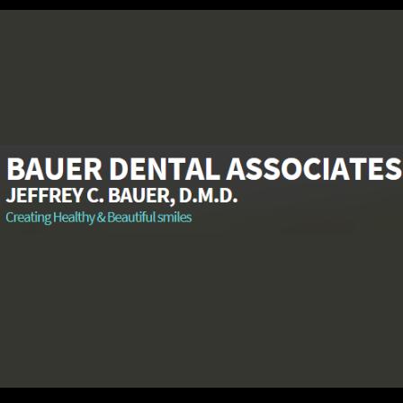 Dr. Jeffrey C Bauer