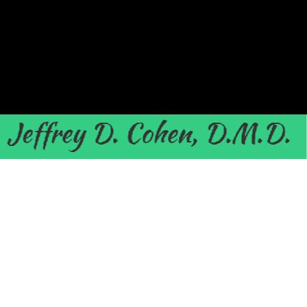 Dr. Jeffrey D Cohen
