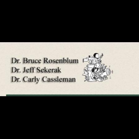 Dr. Jeffrey A. Sekerak